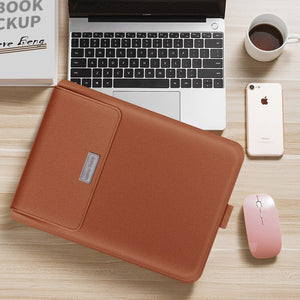 Multi Function Leather Bag for Macbook, Surface, Laptop