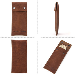 Watch Pouch made of Genuine Leather