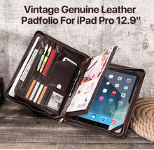 "Padfolio Genuine Leather case for iPad Pro 12.9"" & Macbook Air 13.3"""