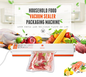 Household Food Vacuum Sealer with 15Pcs Bags Free