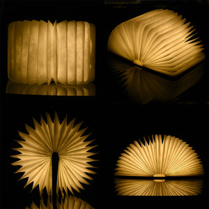 LUMIE - Wooden Foldable LED Book Light