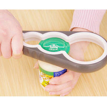 Silicone Multi-functional Four In One Bottle Opener