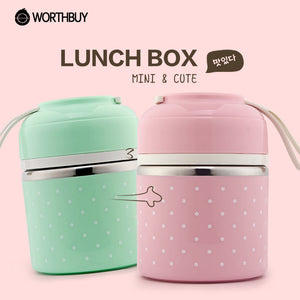 Portable Cute Mini Japanese Bento Box