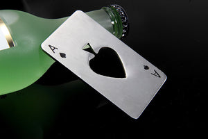 Poker Card Shaped Stainless Steel Beer Bottle Opener