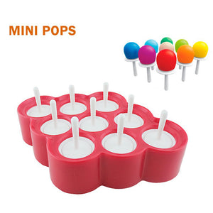 Silicone Lollipop Ice Cream Molds