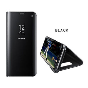 Touch Flip Stand Case For Galaxy J7 Prime
