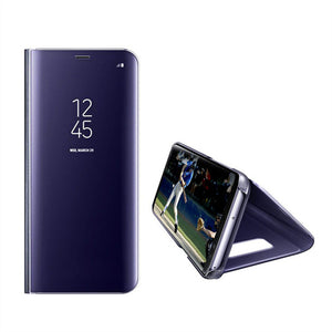 Touch Flip Stand Case For Samsung Galaxy