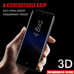 3D Curved Tempered Glass Protector for Galaxy Phones