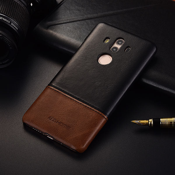 new concept 9ff8b 23694 Genuine Stitched Leather Case for Huawei Mate 10/ Mate 10 Lite/ Mate 10 Pro
