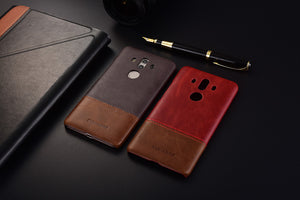 Genuine Stitched Leather Case for Huawei Mate 10/ Mate 10 Lite/ Mate 10 Pro