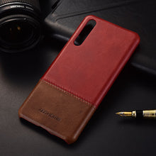 Genuine Stitched Leather Case for Huawei Huawei P20/ P20 Lite/ P20 Pro