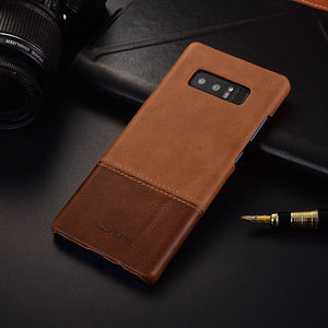 Genuine Stitched Leather Case for Samsung S8/ S8 Plus/ Note 8