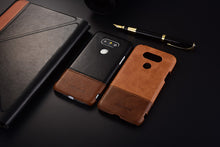 Genuine Stitched Leather Case for LG G5