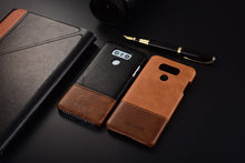 Genuine Stitched Leather Case for LG G6