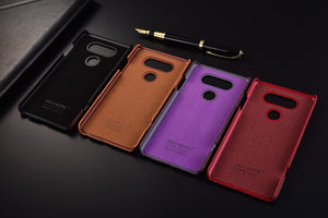 Genuine Stitched Leather Case for LG V20