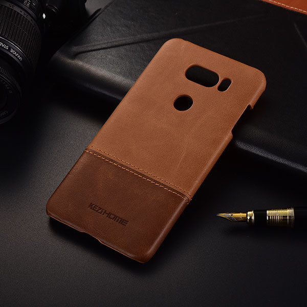 finest selection cf0ce 023f1 Genuine Stitched Leather Case for LG V30