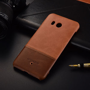 Genuine Stitched Leather for HTC U11/ U11 Plus/ U12 Plus