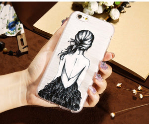 Fashionable Silicone Patterned Case For iPhone