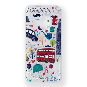 Fashionable Silicone Patterned Case For Galaxy Phones