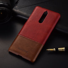 Genuine Stitched Leather Case for Nokia 8