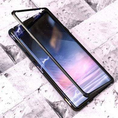 Magnetic Toughened Glass Case for Samsung Galaxy Note 9