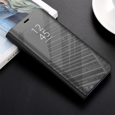Touch Flip Stand Case For Oneplus 6