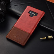 Genuine Stitched Leather Case for Galaxy Note 9