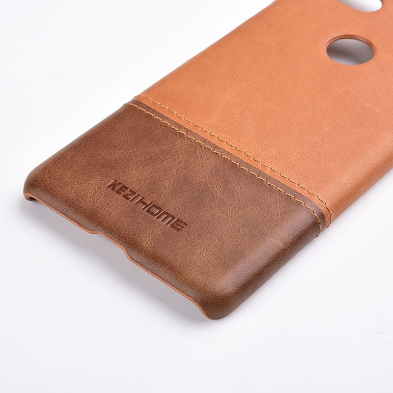 new concept 85f8b c543b Genuine Stitched Leather Case for Google Pixel 3 or Google PIxel 3 XL