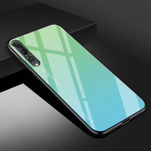 Gradie™ Tempered Glass Case For Huawei