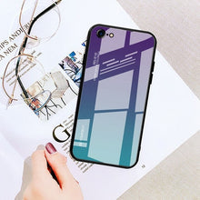 Gradie™ Tempered Glass Case For iPhone