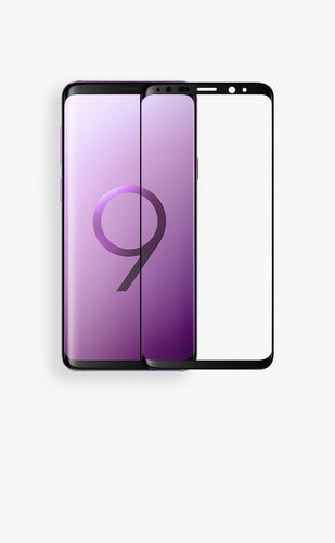 3D Curved Tempered Glass For Galaxy S9 or S9 Plus