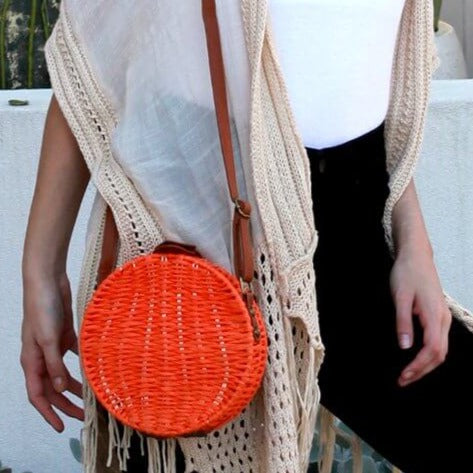 Aria Round Bag Orange
