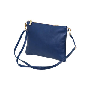 Tully Clutch Bag Blue