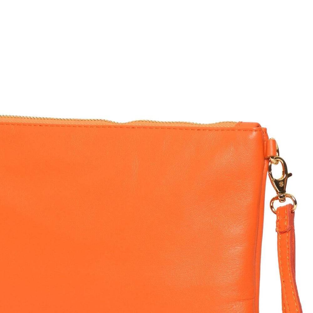 Tully Clutch Bag Orange