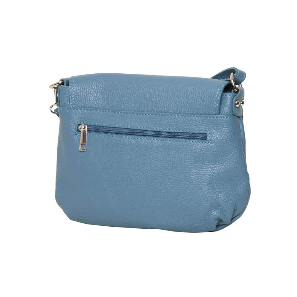 Carey Azure Bag back view