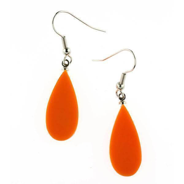 Cascade Droplet Earring Papaya