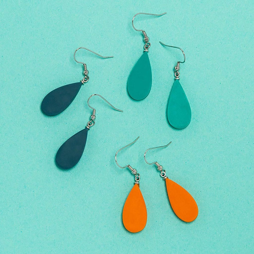 Cascade Droplet Earring Pacific Blue
