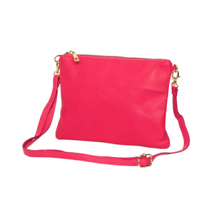 Tully Clutch Bag Fuchsia