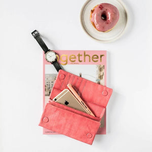 Keiva Leather Purse Watermelon