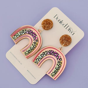 Ludicrous Leopard Earrings