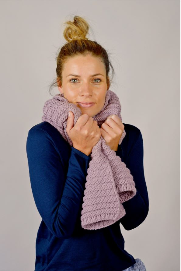 Best Friend Scarf Mauve