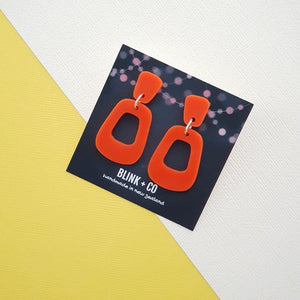 Miss Alice Earrings Tangerine Dream