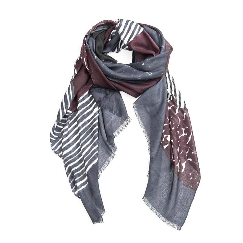 Organic Layers Plum Scarf