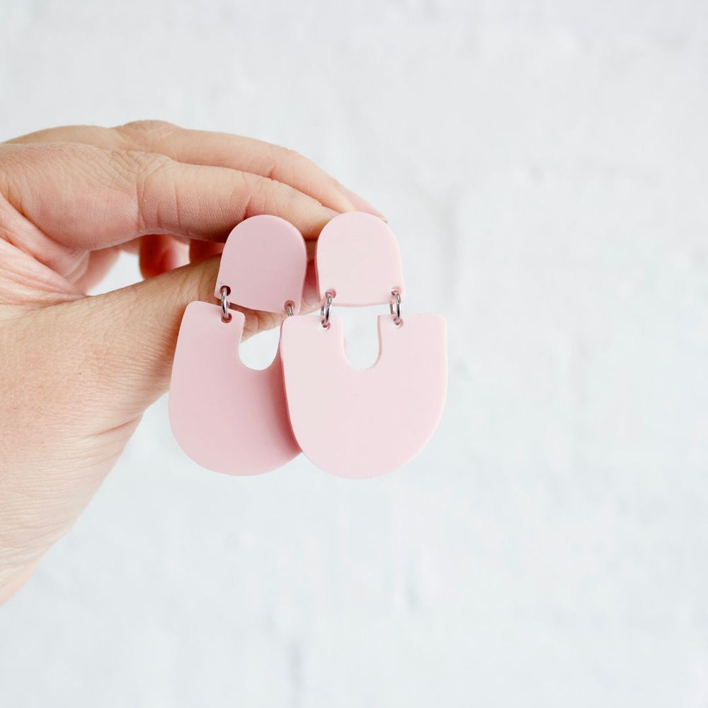 Moops Earrings Pink