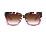 Icy Sunglasses Tort Purple/Brown Fade