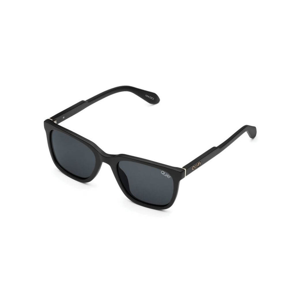 Legacy Sunglasses Matte Black/Smoke