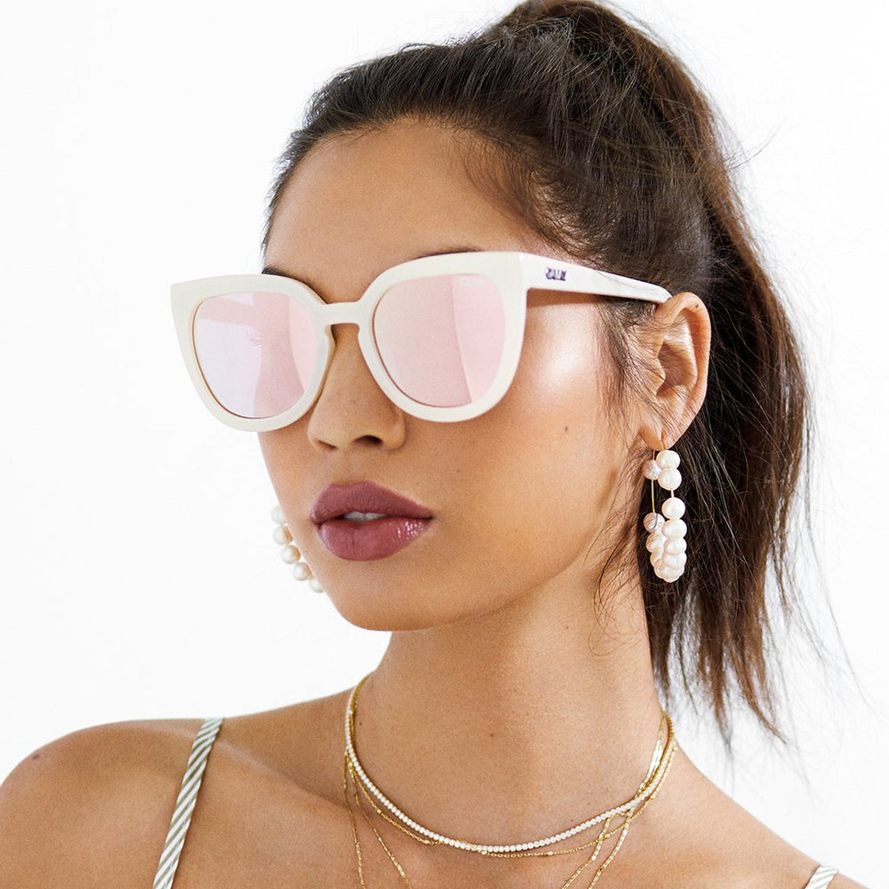 Noosa Sunglasses Pearl/Rose