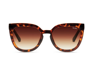 Quay Noosa Sunglasses Tort Brown Front View