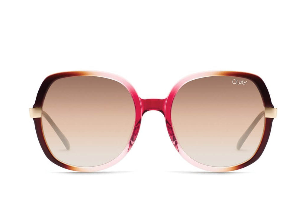 Gold Dust Sunglasses Toffee/Pink Brown/Fade