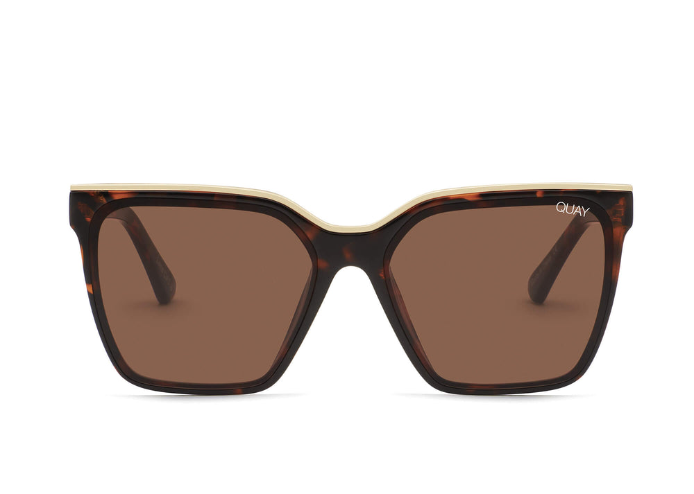 Level Up Sunglasses Tort Gold/Brown